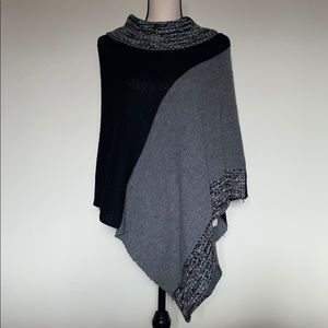 Women's One Size Poncho Sweater